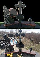 Мемориальный комплекс из гранита П - ЭМК 107