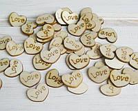 """Чипборд для скрапбукинга """"Сердце Love"""",1,3*1,3 см. 1 шт"""