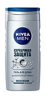 Гель для душа Nivea Men Серебряная защита с ионами серебра - 250 мл.