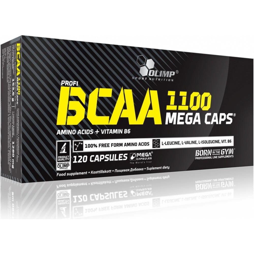 Аминокислота  BCAA Mega Caps blister Olimp Labs 120капс
