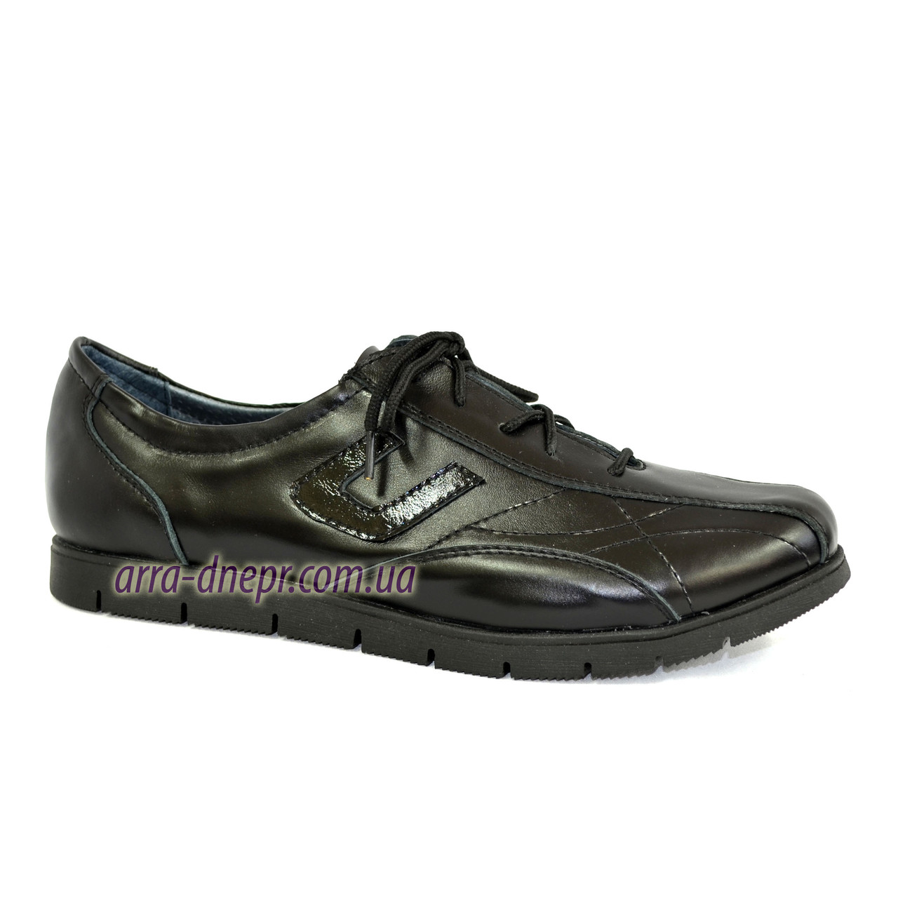 """Кожаные спортивные женские кроссовки на шнуровке. ТМ """"Maestro"""""""