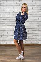 Платье женское джинс Звезда, фото 1