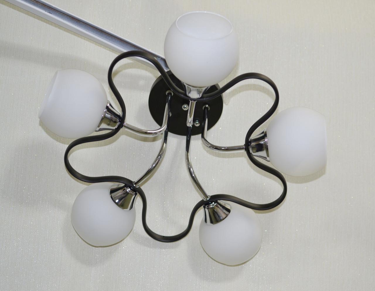 Люстра, 5 ламп