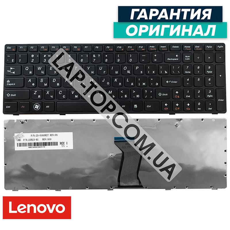 Клавиатура для ноутбука LENOVO 25202513