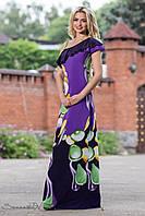 Женское летнее романтичное платье в пол + большой размер