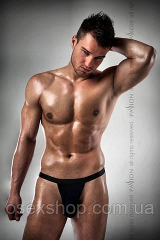 Мужское эротическое белье THONG black - Passion 005 S/M