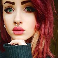 Зеленые линзы для любого цвета глаз