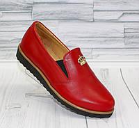 Туфли - мокасины для девочки. натуральная кожа 0048
