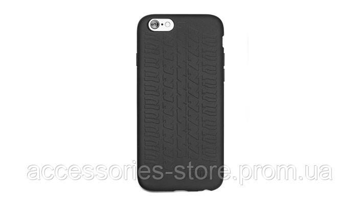 Чехол-крышка Audi для iPhone 6S Case Tyre Tread, Black