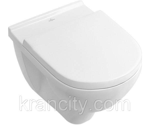 Унитаз в комплекте VILLEROY & BOCH O.NOVO 5660HR01+крышка с микролифтом Soft Close
