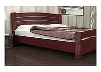 Деревянная кровать  Лиана Экстра из массива ольхи