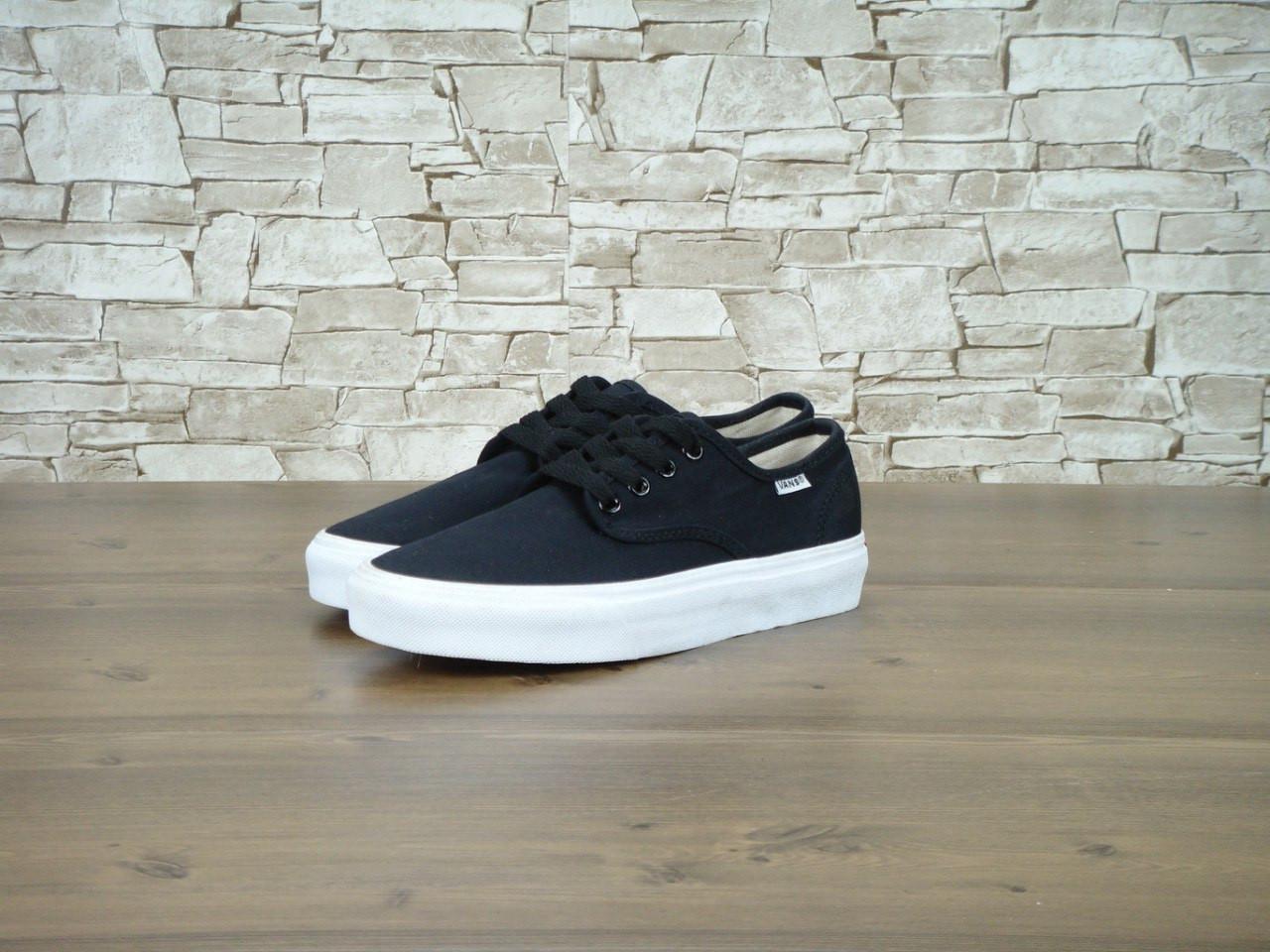 Кеды Vans Authentic Black White Sole - Интернет-магазин «Reverie Shoes» в 6ecd982409c