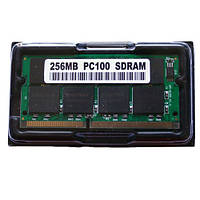 Память 256 MB SODIMM SDRAM PC100, 16 чипов