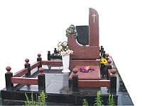Мемориальный комплекс из гранита П - ЭМК 111