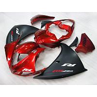 Пластик на мотоцикл Yamaha YZF1000 R1 09-14 MAD RED, фото 1