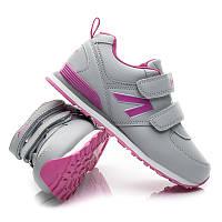 Детские кроссовки для девочки American club 115/15-1 (серый) , фото 1