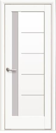 Модель Грета белый матовый стекло межкомнатные двери, Николаев, фото 2