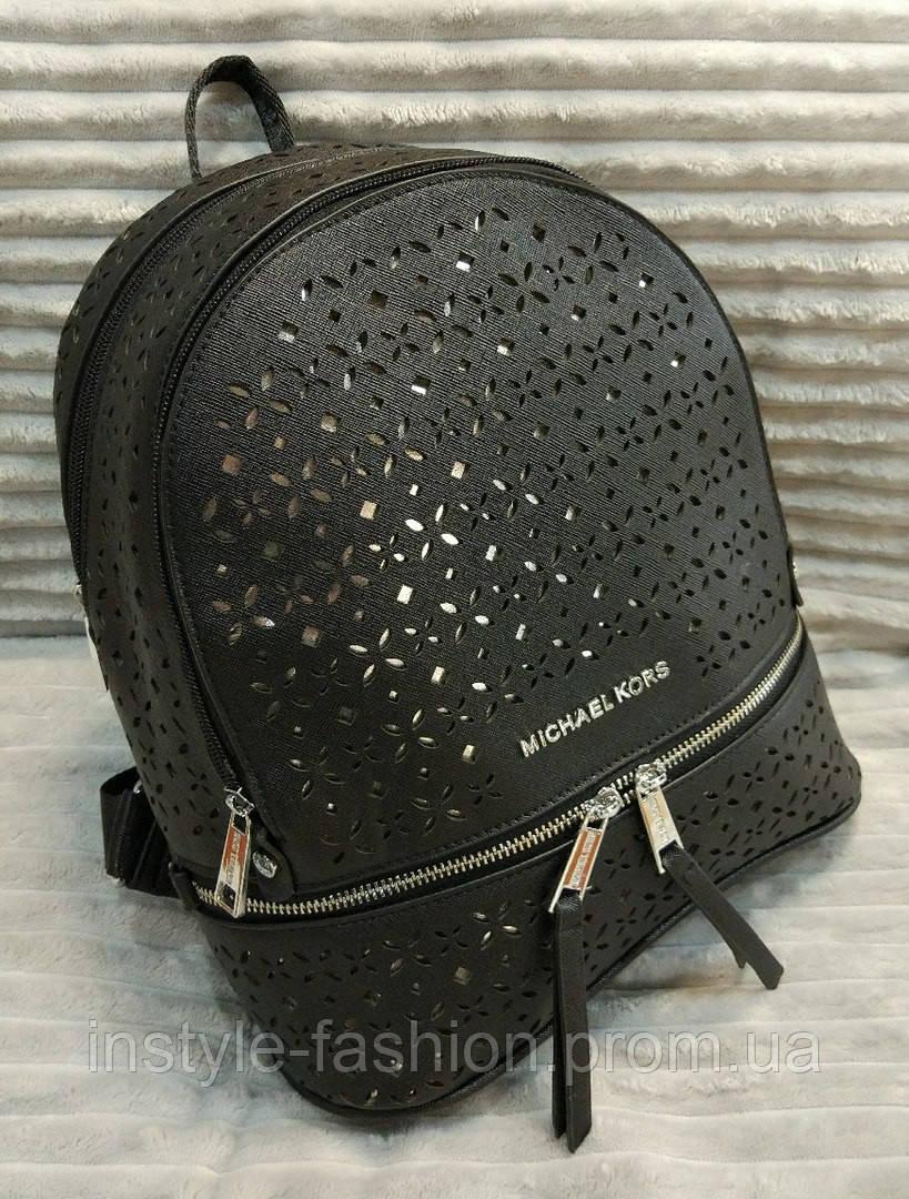 675986247aff Модный и стильный рюкзак Michael Kors Майкл Корс эко-кожа черный - Сумки  брендовые,