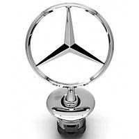 Эмблема Звезда Прицел на капот Mercedes-Benz-S C E Новая Оригинальная