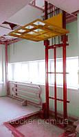 Подъемник консольный Docker гидравлический 1000х1000 мм, ход 4м, г/п 1000кг