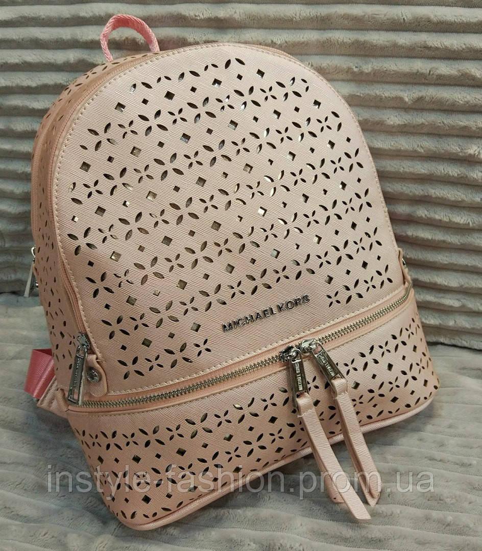 33cd6aae5669 Модный и стильный рюкзак Michael Kors Майкл Корс эко-кожа розовый - Сумки  брендовые,