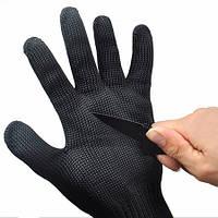 Защитные рукавицы из высокотехнологичного материала, которые защищают руки от порезов при работе с острыми и р