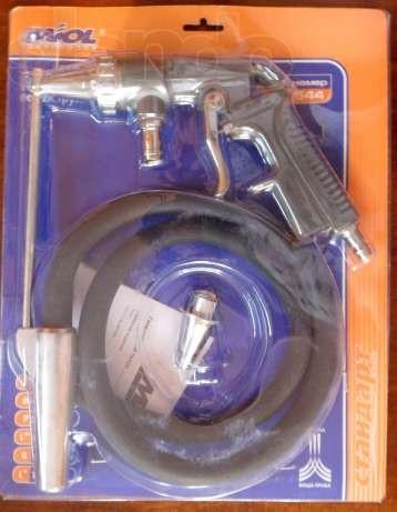 Пистолет пескоструйный пневматический со шлангом Miol 81-544