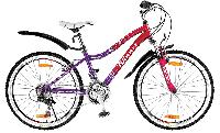 """WINNER Велосипед подростковый со скоростями CANDY 24"""""""