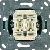 Выключатель для жалюзи Jung 509 VU механизм