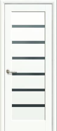 Модель Линея BLK стекло белый матовый межкомнатные двери, Николаев, фото 2
