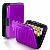 Кошелек-кредитница Aluma Wallet purple (фиолетовый)
