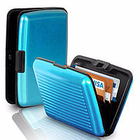 Кошелек-кредитница Aluma Wallet blue (синий)
