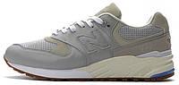 Мужские кроссовки New Balance 999 Grey (Нью Баланс) серые