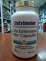 Купить витамины и минералы Life Extension Life Extension Mix Capsules, 100 Caps