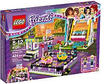 Конструктор Лего Lego Friends Парк развлечений Автодром 41133