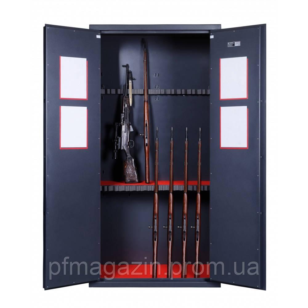 Шкаф оружейный GR.200.2.K.K (20 стволов) (ВхШхГ - 2000х1000х600)