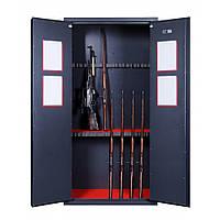Шкаф для оружия GR.200.2.K.K (20 стволов) (ВхШхГ - 2000х1000х600)