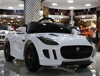 Электромобиль лицензионный Jaguar MD 218 Белый***