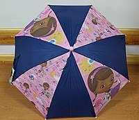 Зонтик детский для девочки Доктор  Плюшева ТМ Sun City