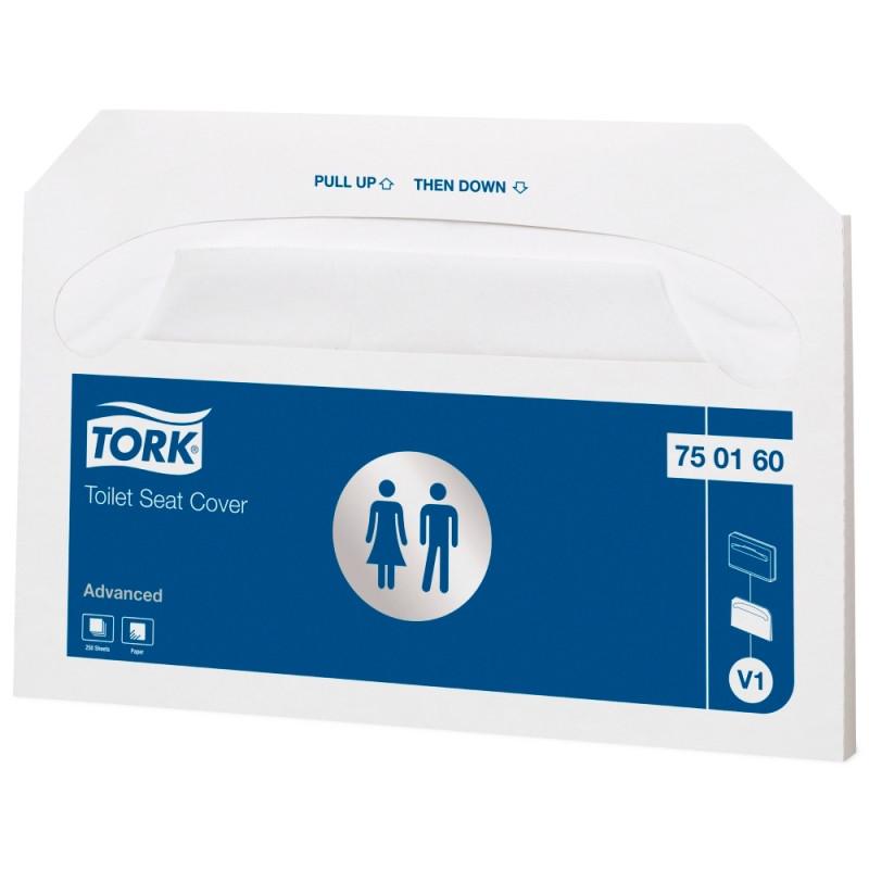 Покрытия на унитаз Tork Advanced