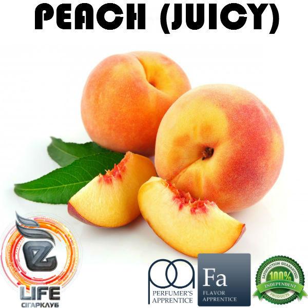 Ароматизатор TPA Peach (Juicy) Flavor (Сочный персик)