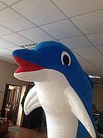 Надувной костюм дельфина