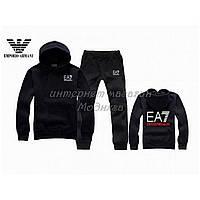Черный спортивный костюм армани ЕА-7