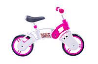 Беговел Small Rider бело-розовый 2014