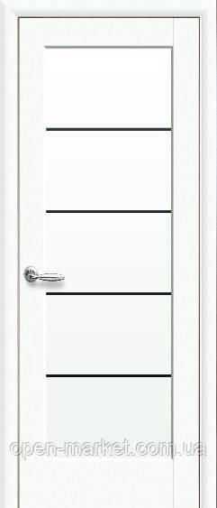 Модель Мира BLK белый матовый стекло межкомнатные двери, Николаев