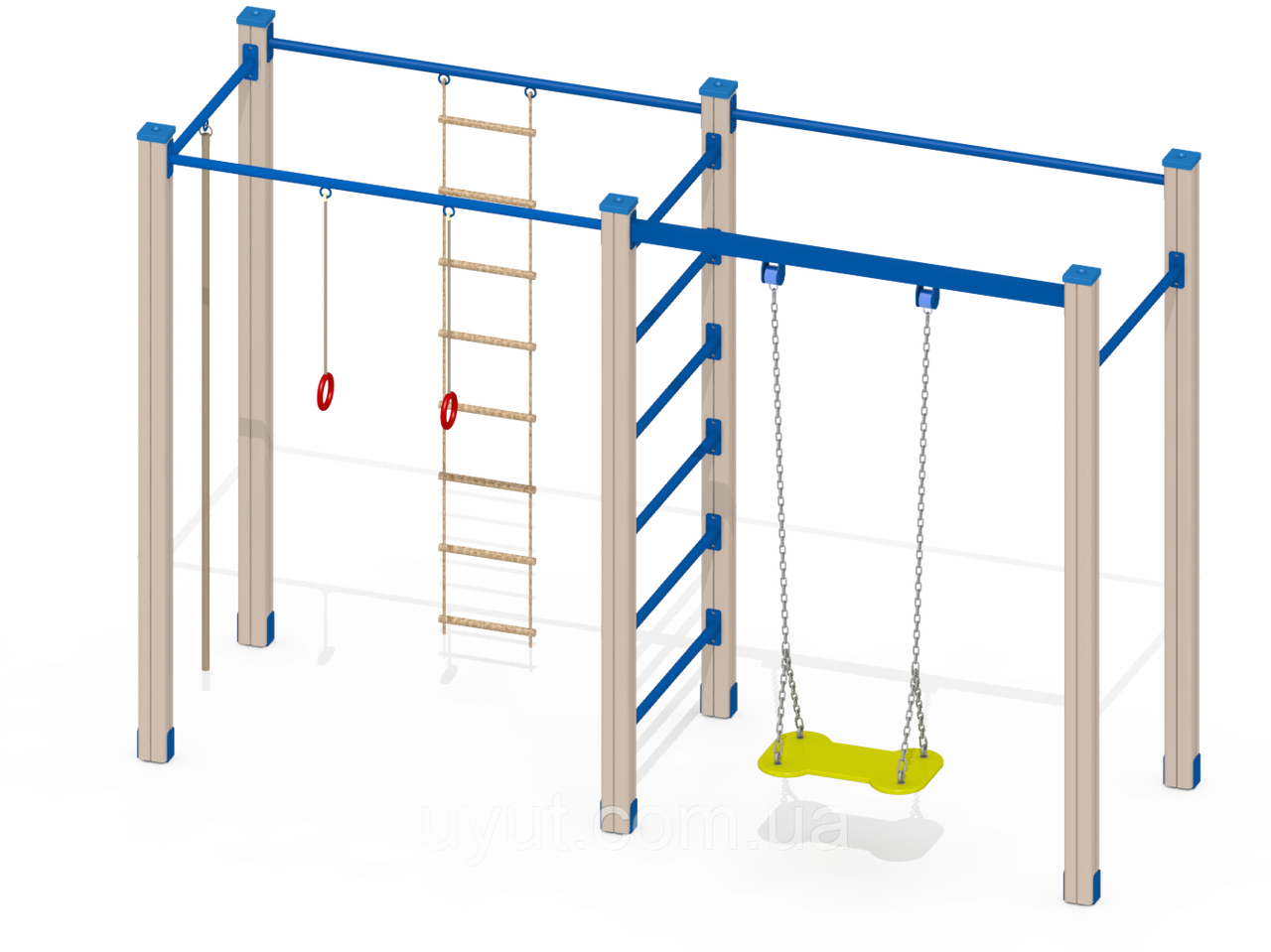 Детский спортивный комплекс C27