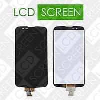 Дисплей для LG K10 LTE K420N K430DS с сенсорным экраном, черный, модуль ( дисплей + тачскрин )