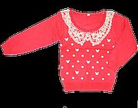 Детский свитер с крукжевом, Китай, р. 86, 92, 98