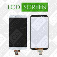 Дисплей для LG K10 LTE K420N K430DS с сенсорным экраном, белый, модуль ( дисплей + тачскрин )