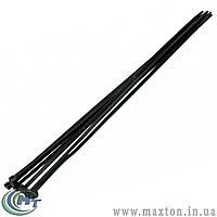 Хомут пластиковый 2,5 х 100 мм черный, 100 шт MasterTool